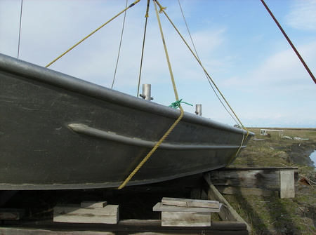 Launching the Boats in the Spring