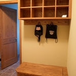 Mud Room in Oak