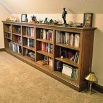 Rift Cut Red Oak Bookcase