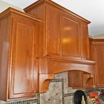 Arched Cherry with Corbels
