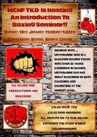 Boxing Seminar