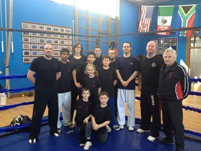 Elite TKD Academy Students at Boxing Seminar