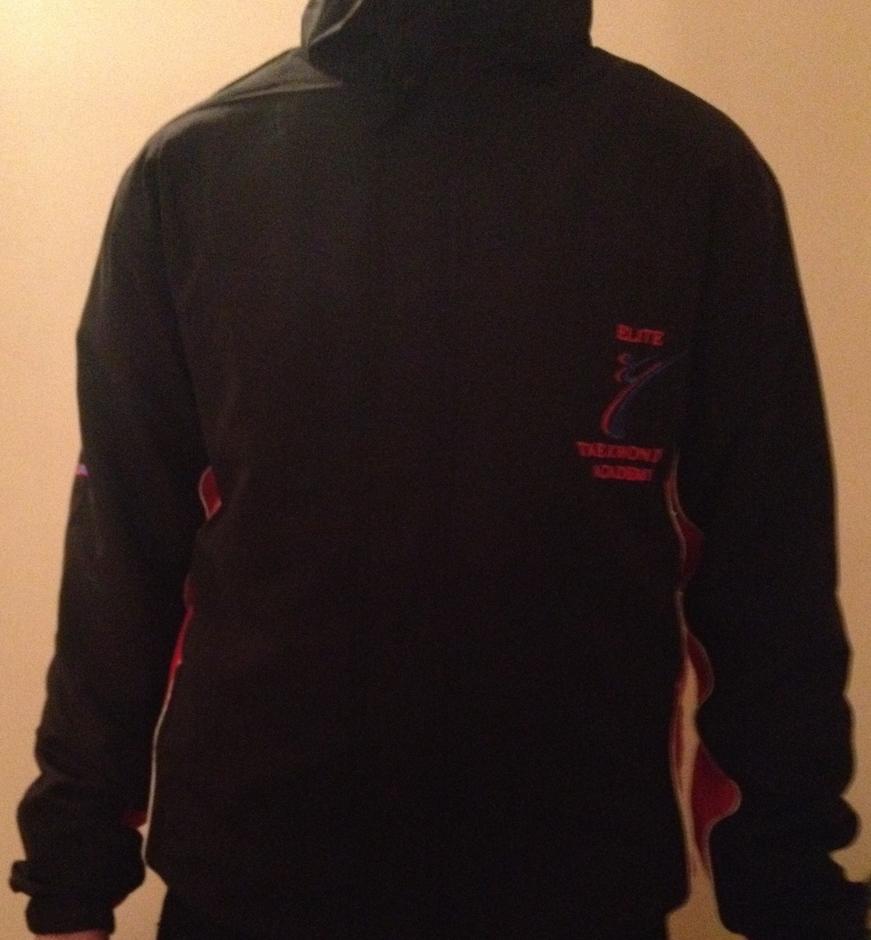 Elite TKD Jacket Front Logo