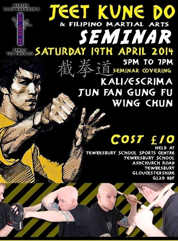 Jeet Kune Do Seminar April 2014