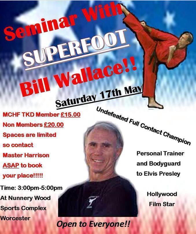 Bill Superfoot Wallace Seminar