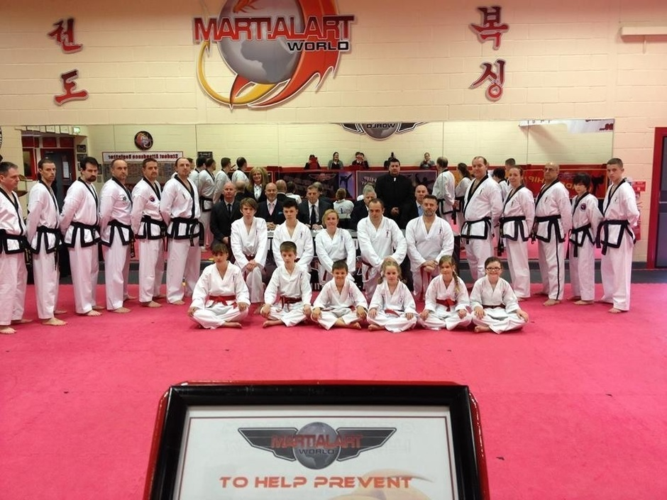 Black Belt Grading 11th May 2014