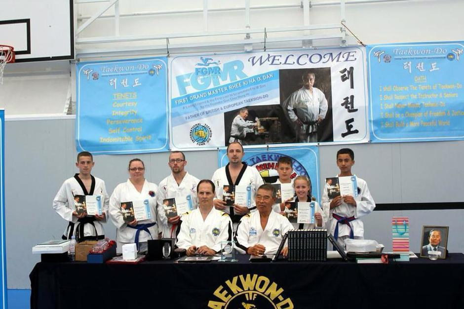 Elite TKD Academy - Meet First Grand Master Rhee