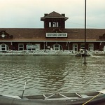 1993 Flood at the Santa Fe depot & NLCHS museum