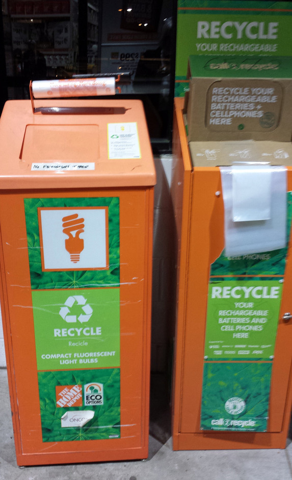 Home Depot Recycling Light Bulbs