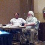 Chief Albert Naquin and Darryl Malek-Wiley