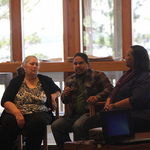 2013 Patty Whitney serves as a panelist at Weeks Bay Gathering