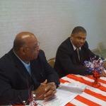 Rev. Donald Stovall and Rev. Donald Bogen, Sr.