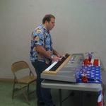 Joey Roddy sings in praise