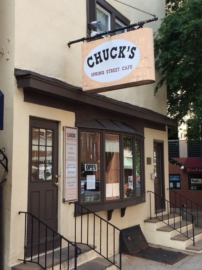 Home - CHUCK'S SPRING STREET CAFE