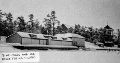 Ojibway Boathouse and Icehouse