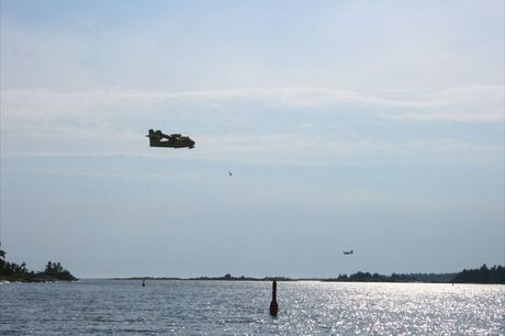 Two Water Bombers
