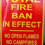 Total Fire Ban in Effect
