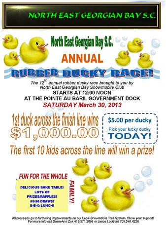 Ducky Race 2013