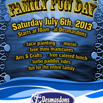 Desmasdons Family Fun Day