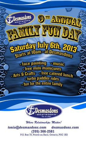Desmasdons Family Fun Day