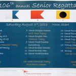 Senior Regatta Poster 2013