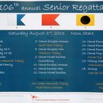 Senior Regatta Poster 2013