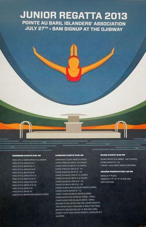 Junior Regatta Poster 2013