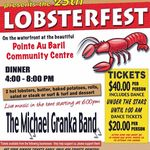 2014 Lobsterfest Poster