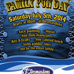 Desmasdons 10th Annual Family Fun Day