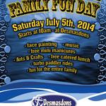 Desmasdons 10th Annual Family Fun Day