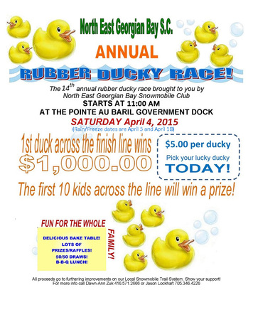 14th Annual Rubber Ducky Race