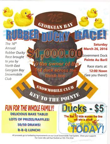 Rubber Ducky Race 2016
