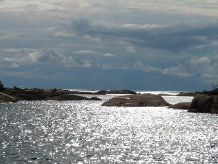 Rock Sky Water