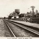 C.P.R.  Station . Point au Baril
