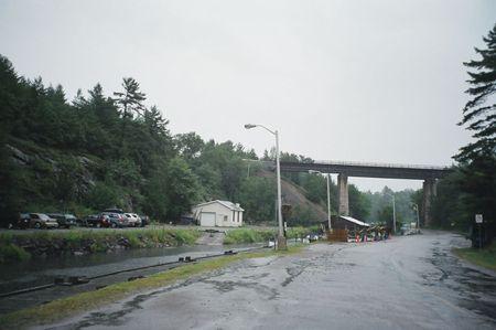 Rainy Day at the Station