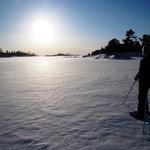 Winter Sunset Hemlock Channel Feb. 2010