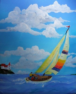 Sailing to the Pointe