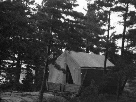 Platform Tent