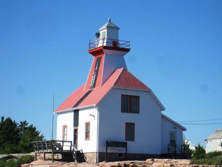 Snug Harbour Lighthouse - south side