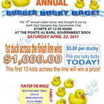10th Annual Rubber Ducky Race