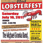 Lobsterfest 2011Poster