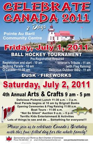 Celebrate Canada 2011 Poster