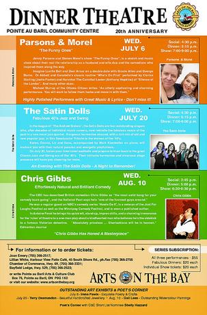 Dinner Theater 2011 Poster