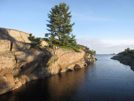 Granite, Pines, Water