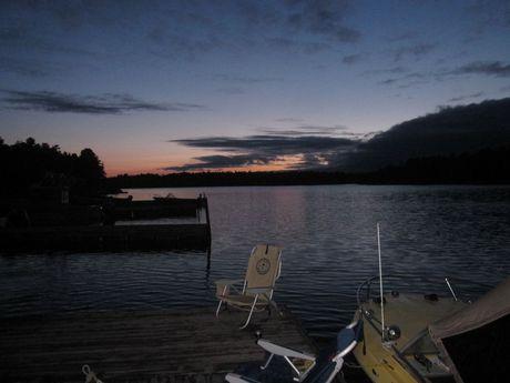 Dawn at Camp McIntosh