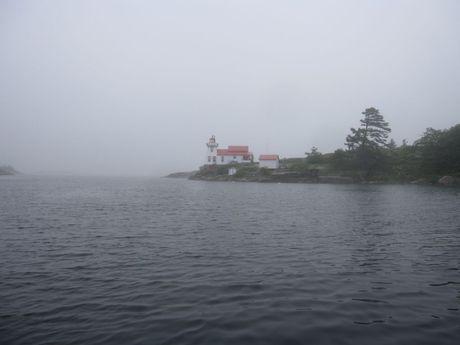 Northbound in the Fog