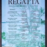 2011 Senior Regatta Poster