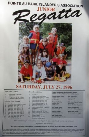 1996 Junior Regatta - New