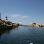 Bustard Island Lighthouses