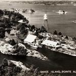 Range Island postcard